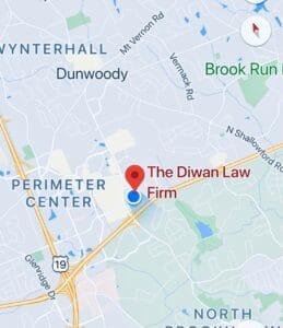 Map Diwan Law